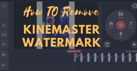 how to remove kinemaster watermark